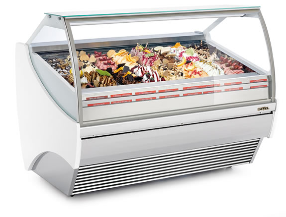 Ice Cream & Gelato Display Freezers