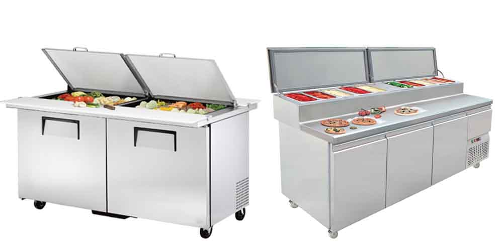 Pizza Preparation Fridges