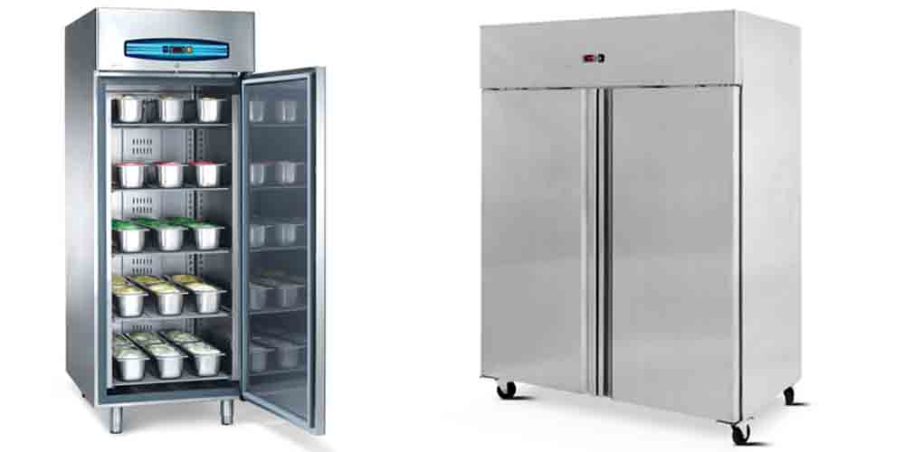 Upright Solid Door Storage Fridges & Freezers